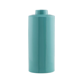 Mod Retro Tall Teal Vase