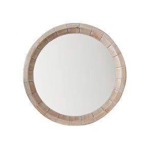 Tropical Round Accent Wall Mirror