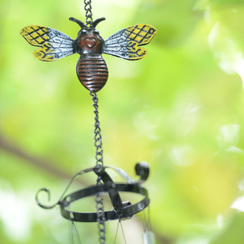 Colorful Bee Wind Chime