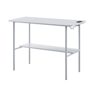 Gray USB Enabled Desk