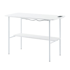 White USB Enabled Desk