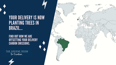 Your Delivery is now Planting Trees in Brazil -