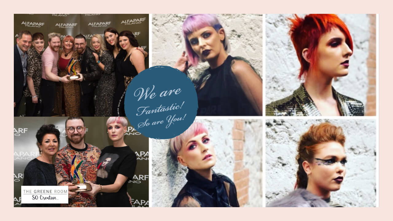 ? We Are Fantastic & So Are You!! ??: Winners of the 2018 Fantastic Marketing Award & placed in the Fantastic Stylist Award