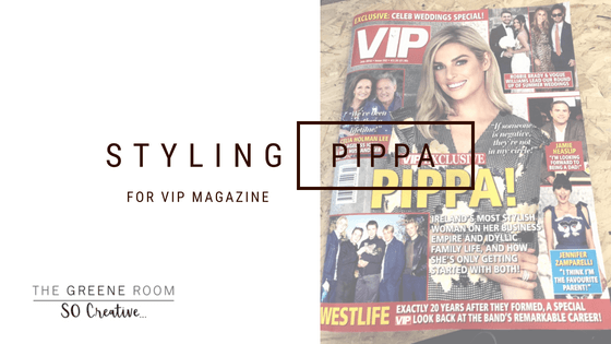 Styling Pippa for VIP Magazine