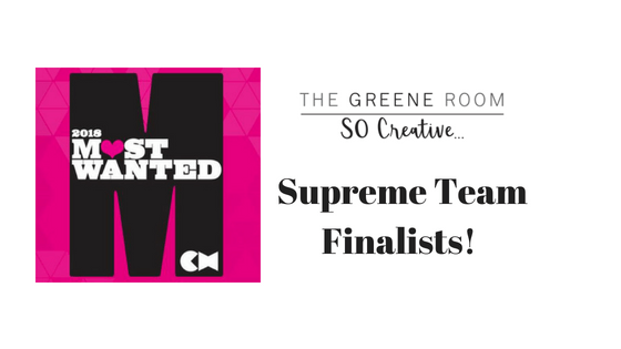 Creative Head Most Wanted 2018 Supreme Team Finalists!