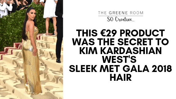 THIS €29 PRODUCT WAS THE SECRET TO KIM KARDASHIAN WEST'S SLEEK MET GALA 2018 HAIR