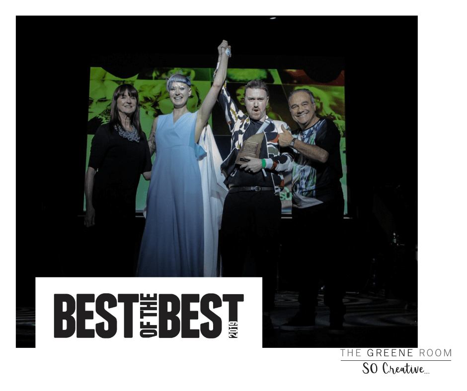 The Greene Room wins Irish Hairdresser of the Year 2019 at Best of the Best Awards