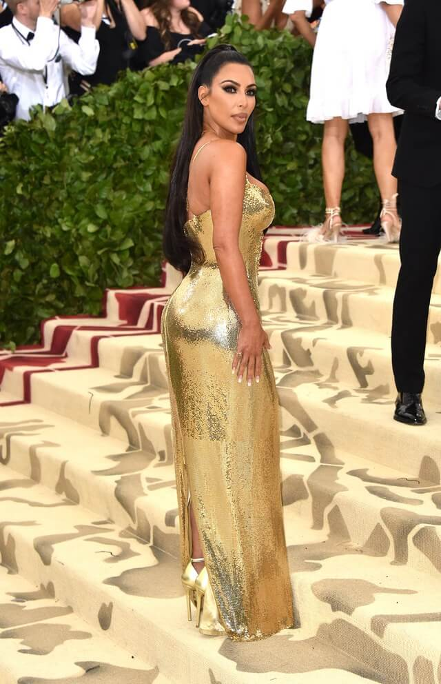Kim Kardashian West Sleek Look at the MET Gala 2018 - How to get that look!