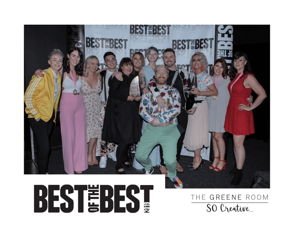 The Greene Room wins Irish Hairdresser of the Year 2019 at Best of the Best Awards (1)