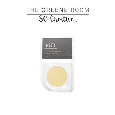MUD - Contouring / Highlight Powder Refill Lemon Cream