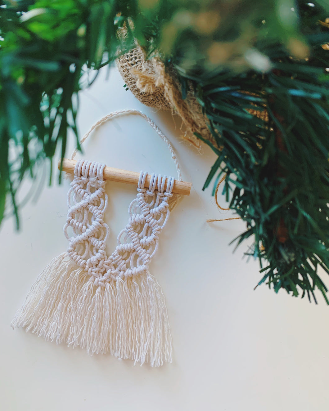 Holli Macrame Ornaments