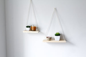 Kaia Hanging Shelves in Natural