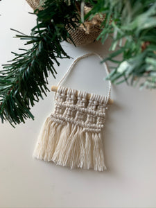 Folklore Macrame Ornament