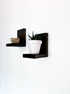 Gabby Floating Shelf in Ebony