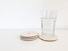 Load image into Gallery viewer, Amber Coasters (Set of 4)
