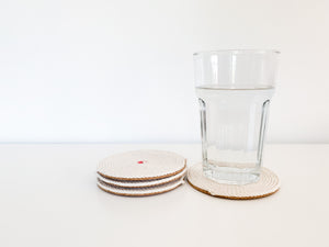 Amber Coasters (Set of 4)