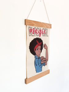 Black Girl Magic Canvas poster