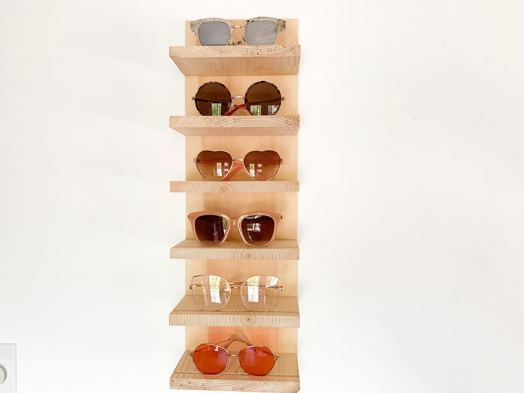 Megan Sunglasses Display Natural