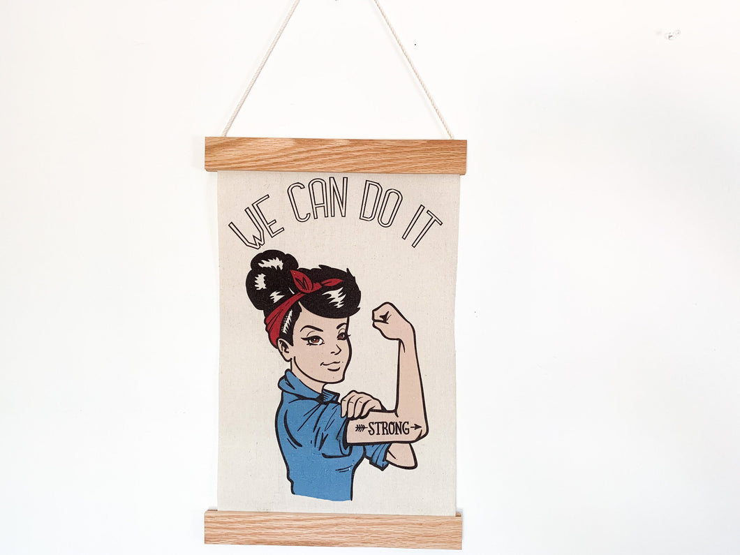 We Can Do It - Rosie the Riveter Canvas poster