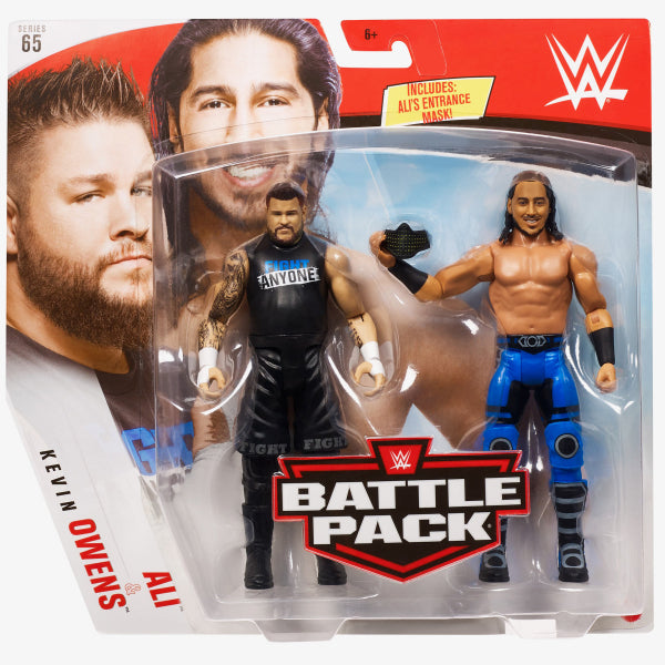 WWE Mattel Battle Packs Series 65 Ali vs. Kevin Owens