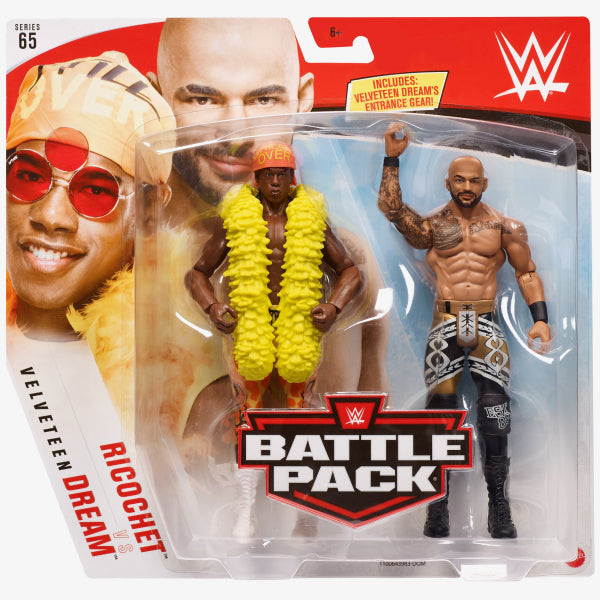 WWE Mattel Battle Packs Series 65 Ricochet vs. Velveteen Dream