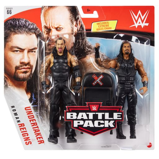 WWE Mattel Battle Packs Series 66 Undertaker & Roman Reigns