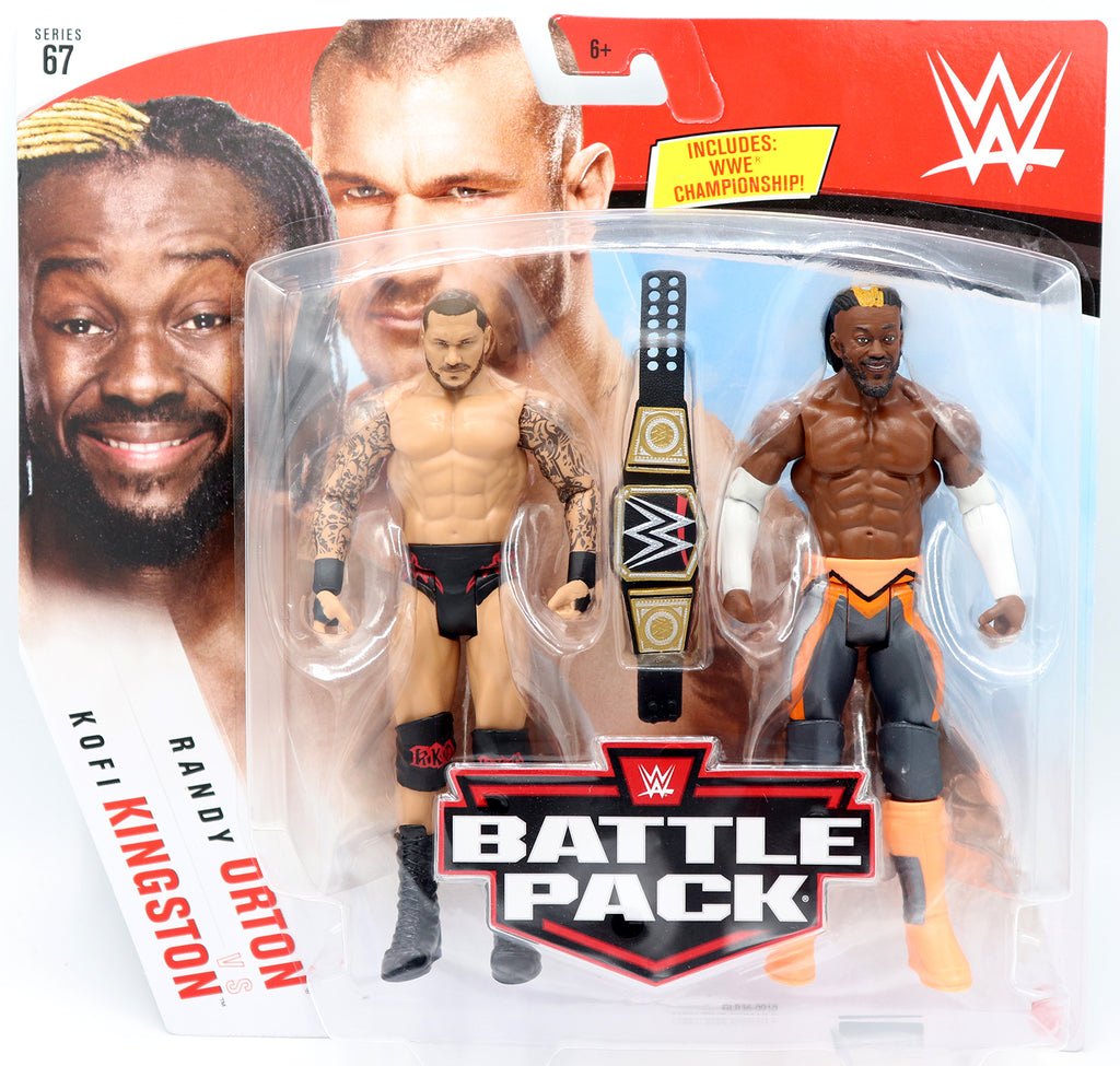 WWE Mattel Battle Packs Series 67 Kofi Kingston / Randy Orton
