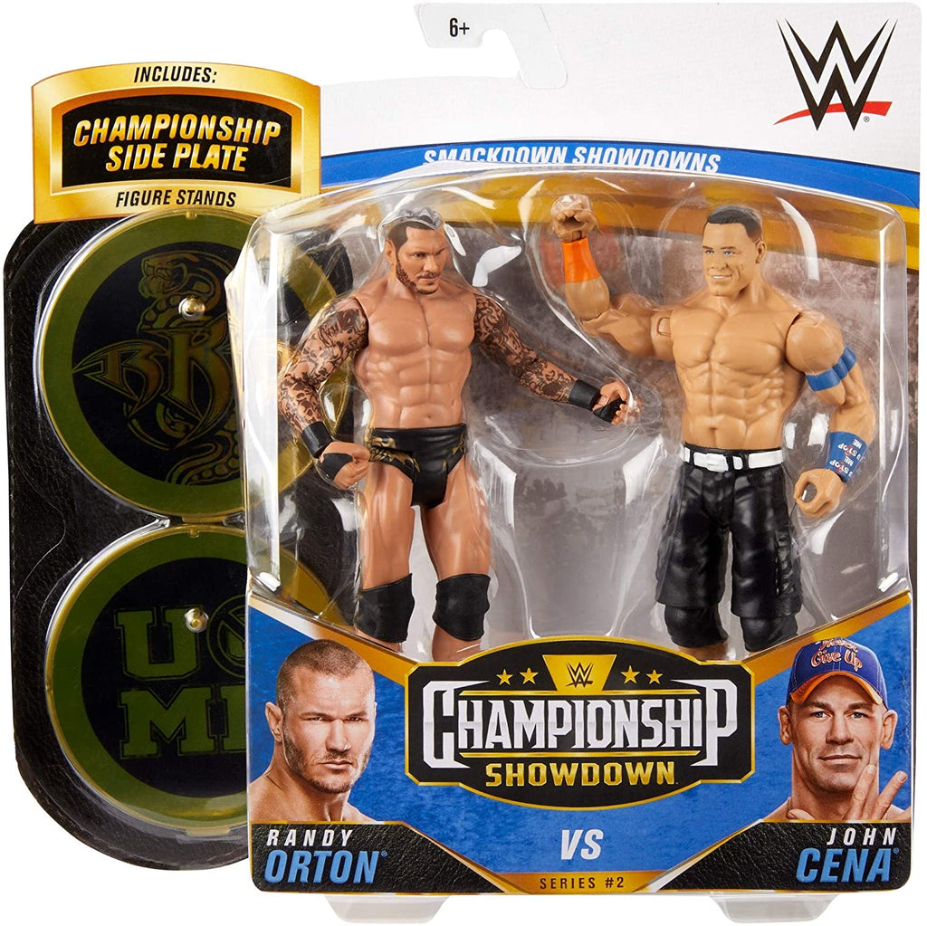 WWE Mattel Battle Packs Championship Showdown Series 2 Randy Orton vs. John Cena