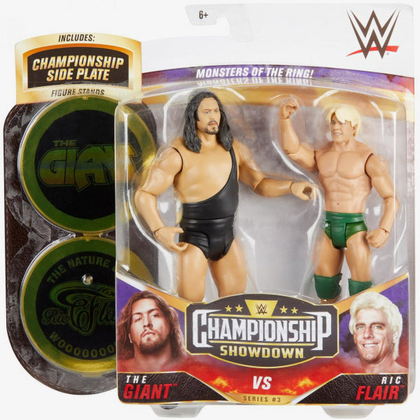 WWE Mattel Battle Packs Championship Showdown Series 3 The Giant vs. Ric Flair