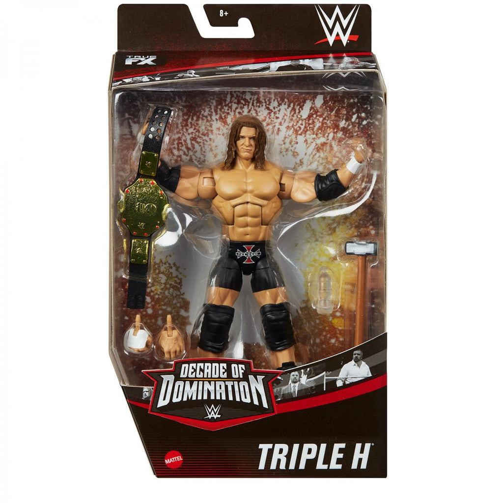 WWE Mattel Elite Collection Exclusive Decade of Domination Triple H