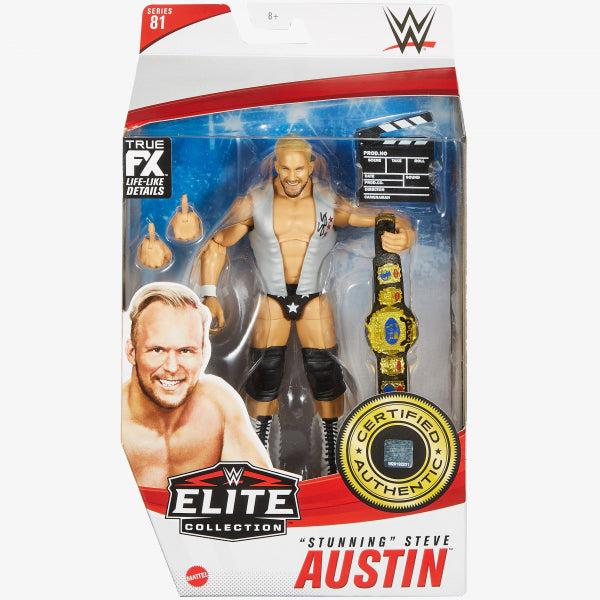 WWE Mattel Elite Collection Series 81 Stunning Steve Austin