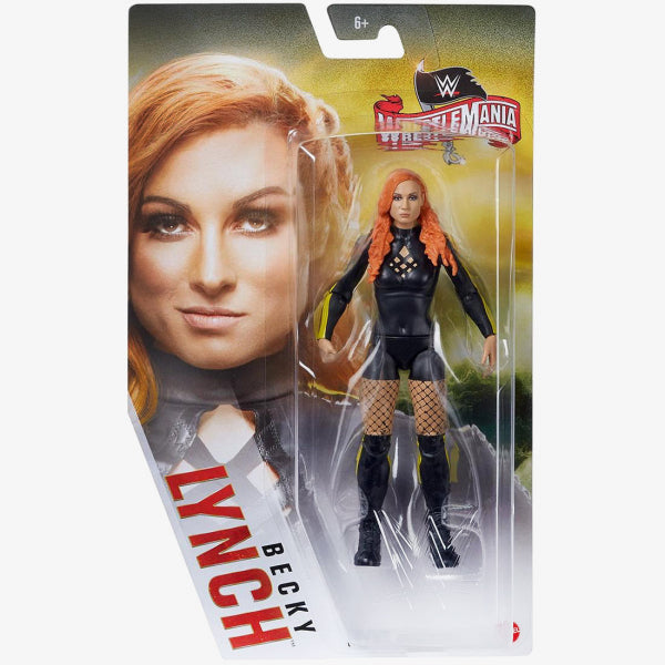 WWE Mattel Basic Series Wrestlemania 36 Becky Lynch