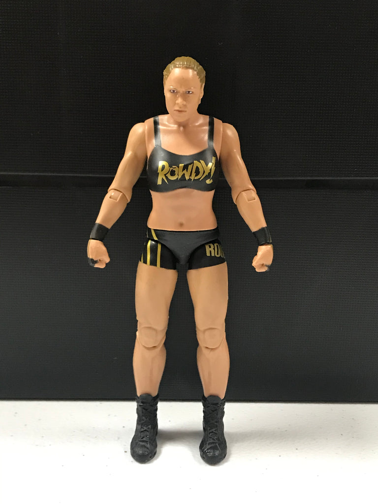 WWE Mattel Basic Series 101 Ronda Rousey Loose Figure