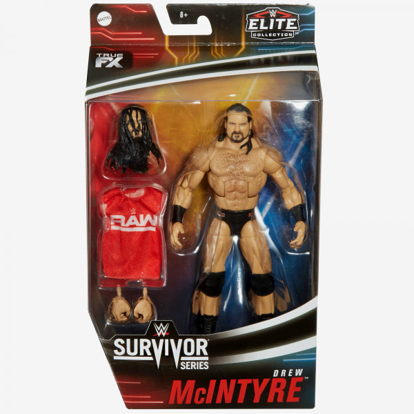 WWE Mattel Elite Collection Exclusive Survivor Series Drew McIntyre