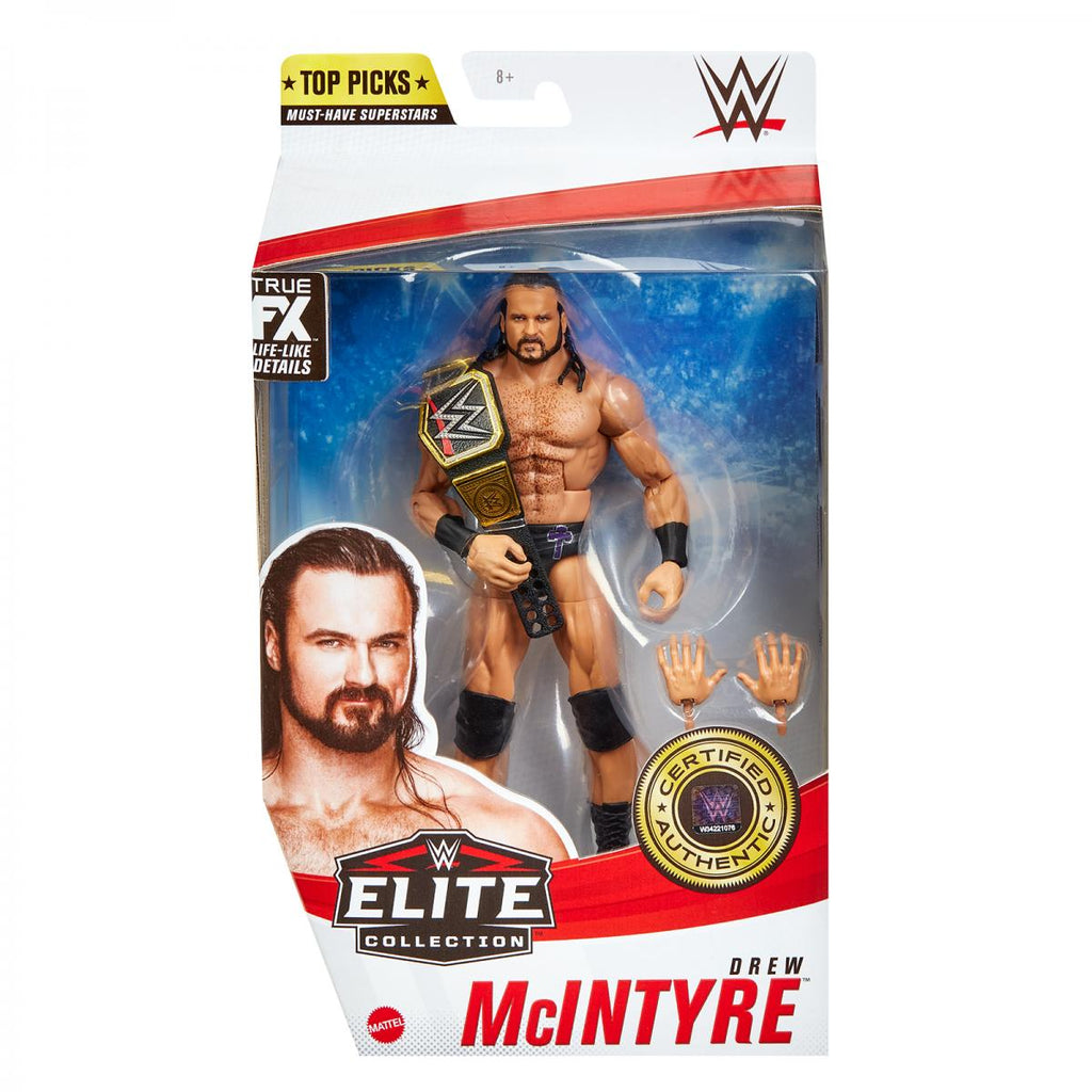 WWE Mattel Elite Collection Top Talent 2021 Drew McIntyre PREORDER SHIPS MAY