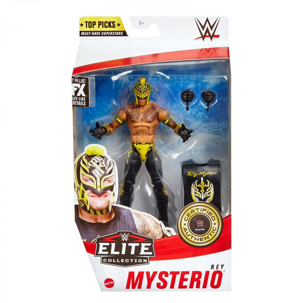 WWE Mattel Elite Collection Top Talent 2021 Rey Mysterio PREORDER SHIPS MAY