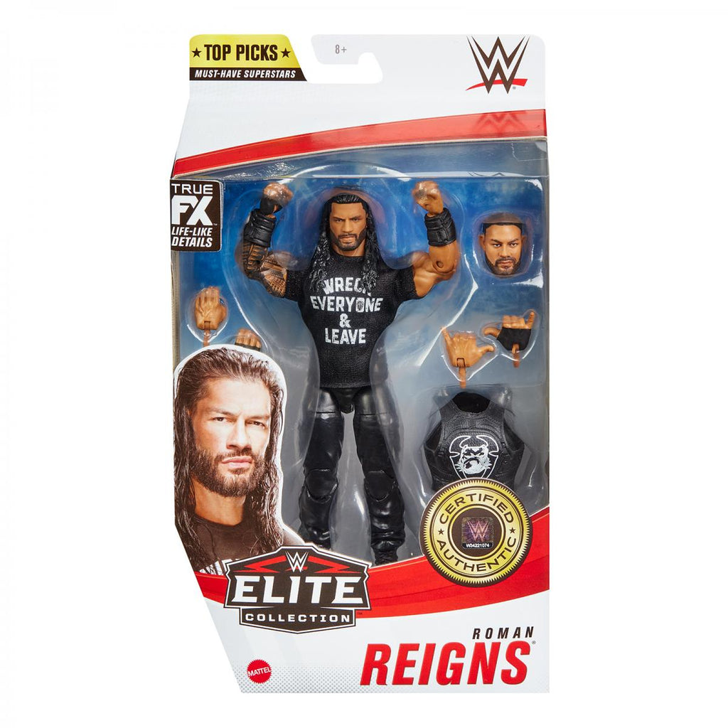 WWE Mattel Elite Collection Top Talent 2021 Roman Reigns PREORDER SHIPS MAY