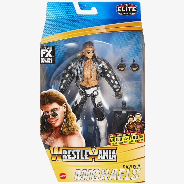 WWE Mattel Elite Collection Wrestlemania 37 Shawn Michaels