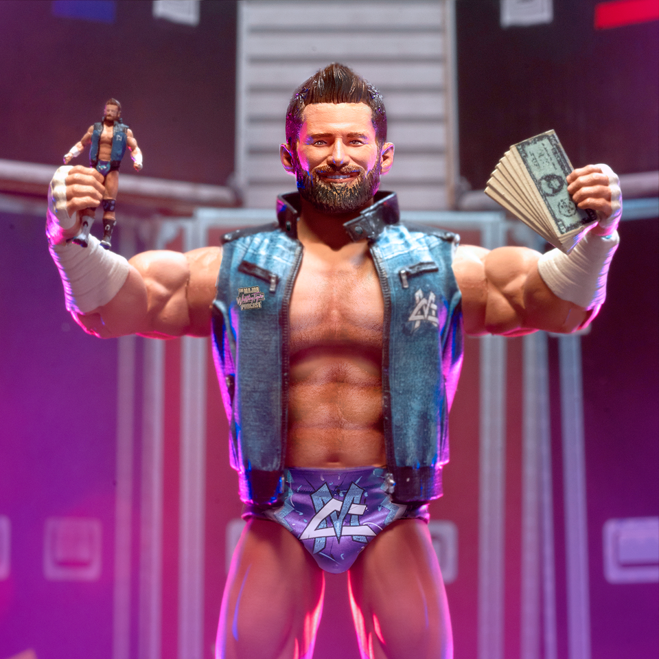 Major Wrestling Figure Podcast Super7 Ultimates Matt Cardona PREORDER SUMMER 2021