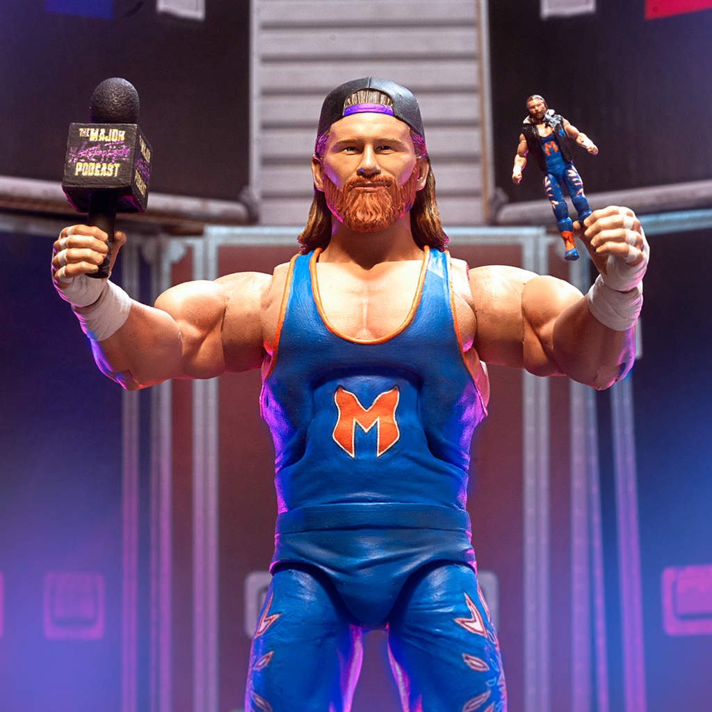 Major Wrestling Figure Podcast Super7 Ultimates Brian Myers PREORDER SUMMER 2021