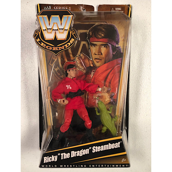 WWE Mattel Elite Legends Series 1 Ricky The Dragon Steamboat (1 available)