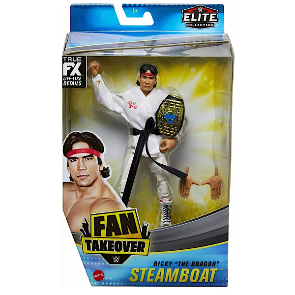 WWE Mattel Elite Collection Exclusive Fan Takeover Ricky The Dragon Steamboat