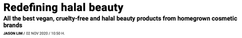 halal beauty, cosmetics, Malaysian