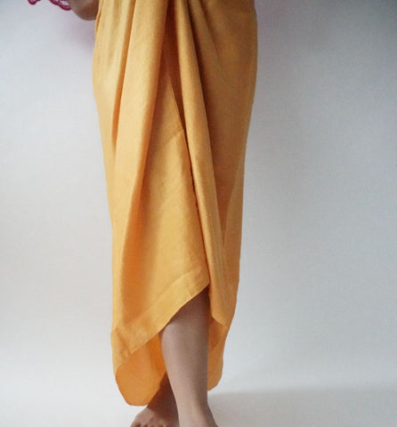 Pareo Plain by MEK in Canary Yellow
