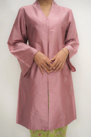 Kebaya Panjang by MEK (Defect) in Dusty Purple (L)