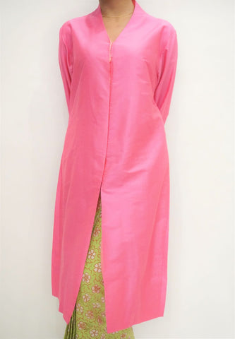 Kebaya Panjang by MEK (Defect) in Pink (XXL)