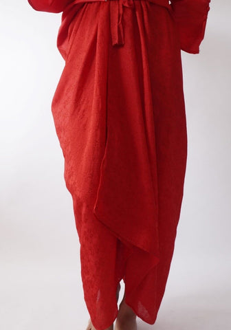 Pareo Plain by MEK in Red