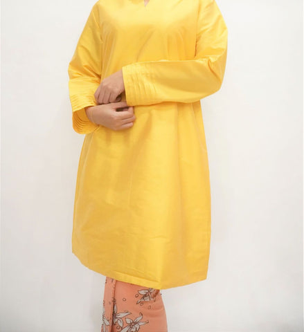 Kurung by MEK (Defect) in Yellow (XL)