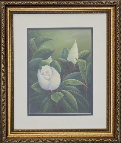 Blooming Magnolia by Al Leitch