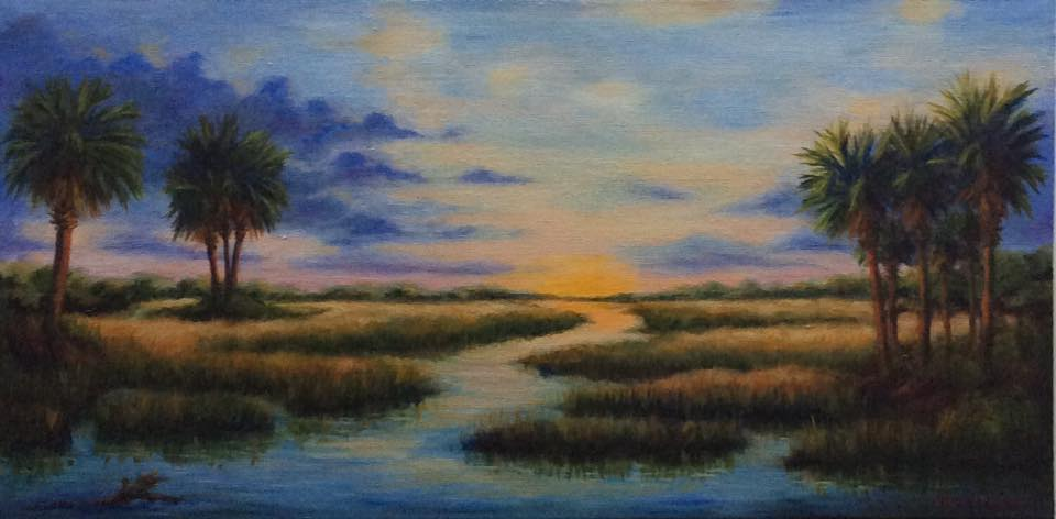 """Low Country Days End"" by Al Leitch"
